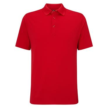 Callaway Gents Hex Opti-Dri Stretch Polo Shirt Tango Red