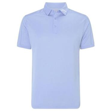 Callaway Gents Denim Jacquard Polo Shirt Chambray
