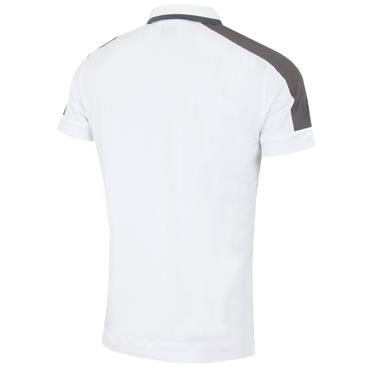 Callaway Gents Shoulder Block Polo Shirt White