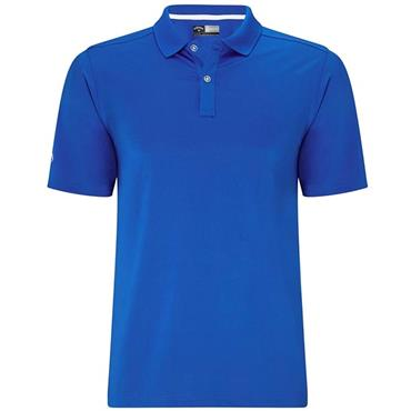 Callaway Gents Solid Polo Shirt Blue