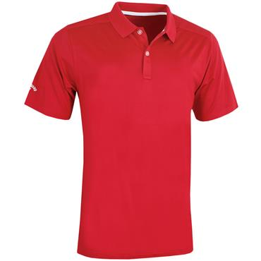 Callaway Gents Solid Polo Shirt Cayenne