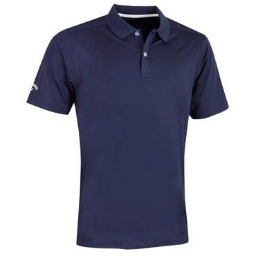Callaway Gents Solid Polo Shirt Peacoat