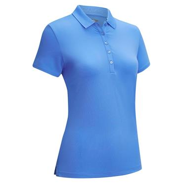 Callaway Ladies Core Micro Hex Polo Shirt Marina