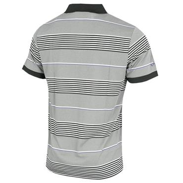 Callaway Gents 3-Stripe Block Polo Shirt Caviar