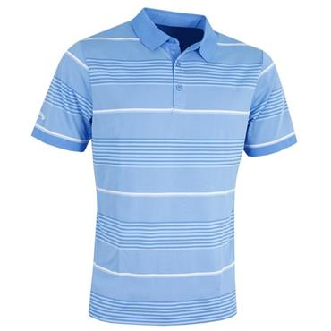 Callaway Gents 3-Stripe Block Polo Shirt Marina