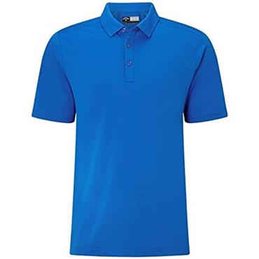 Callaway Gents Hex Opti Stretch Polo Shirt Magnetic Blue