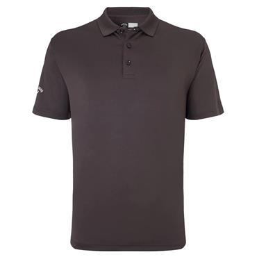 Callaway Gents Hex Opti Stretch Polo Shirt Asphalt