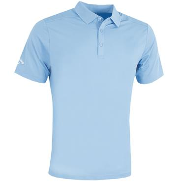 Callaway Gents Hex Opti Stretch Polo Shirt Chambray