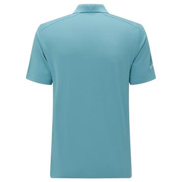 Callaway Gents Hex Opti Stretch Polo Shirt Delphinium Blue
