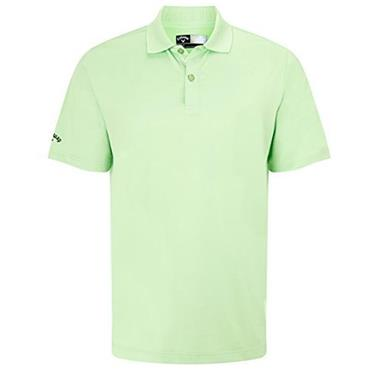 Callaway Gents Hex Opti Stretch Polo Shirt Jade