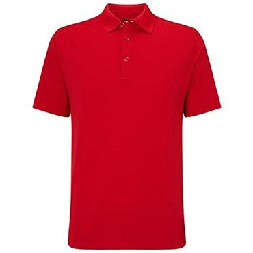 Callaway Gents Hex Opti Stretch Polo Shirt Red