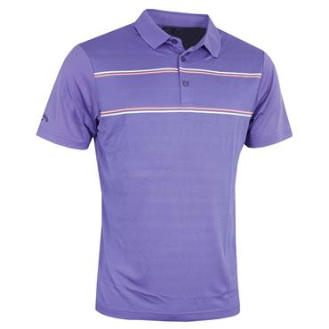 Callaway Gents Yarn Dyed Engineered Vent Polo Shirt Liberty