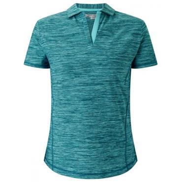 Callaway Ladies Shooting Star Polo Shirt  Blue Radiance