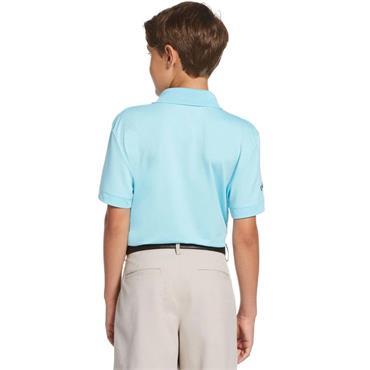 Callaway Junior - Boys Micro Hex Polo Shirt Blue