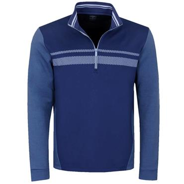 Callaway Gents 1/4 Zip High Gauge Fleece Medieval Blue