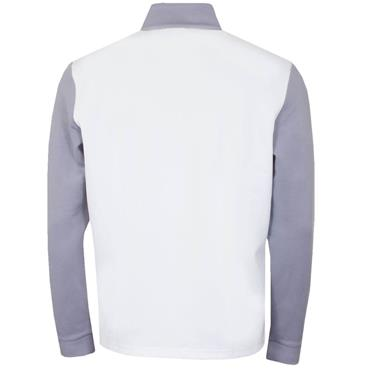 Callaway Gents 1/4 Zip High Gauge Fleece White