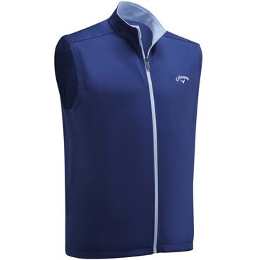 Callaway Gents Full Zip Fleece Vest Peacoat