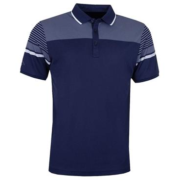 Callaway Gents Birdseye Polo Shirt Blue