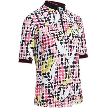 Callaway Ladies Printed Floral Top Caviar