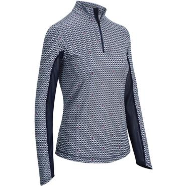 Callaway Ladies Flamingo Sun Protect Top Peacoat