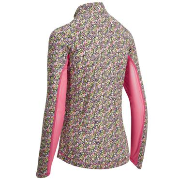 Callaway Ladies Ditsy Sun Protect Top Rose