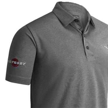 Callaway Gents Soft Touch Polo Shirt Med Grey