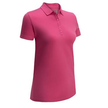 Callaway Ladies Solid Swing Polo Raspberry Sorbet