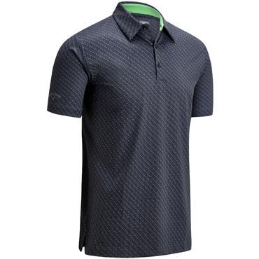 Callaway Gents All Over Chev Polo Shirt Caviar