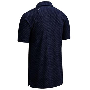 Callaway Gents All Over Chev Polo Shirt Peacoat