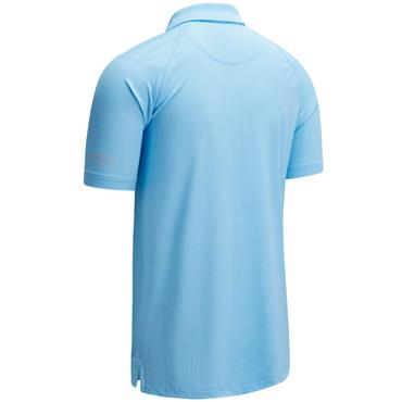 Callaway Gents All Over Micro Polo Blue
