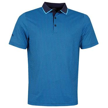 Callaway Gents Novelty Polo Shirt Peacoat