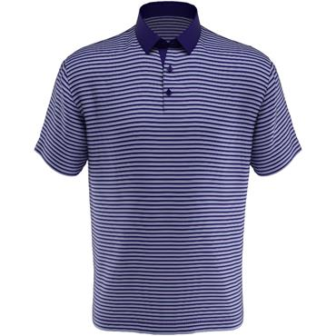 Callaway Gents 3 Colour Y/D Polo Blue