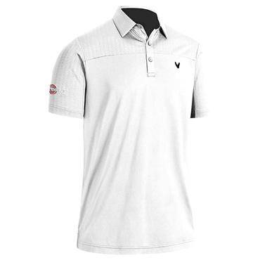 Callaway Gents Odyssey Ventilated Block Polo Shirt Bright White