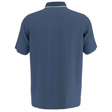 Callaway Gents Micro Geo Jacquard Polo Shirt Teal