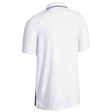 Callaway Gents Micro Geo Jacquard Polo Shirt White