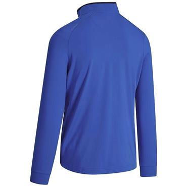 Callaway Gents Pieced Print ¼ Zip Fleece Blue