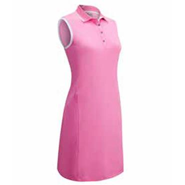 Callaway Ladies Polo Sleeveless Polo Dress Pink