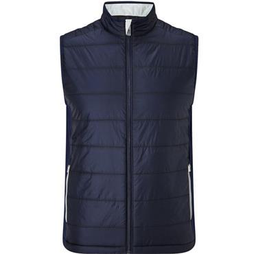 Callaway Gents Fiber Filled Puffer Vest Peacoat