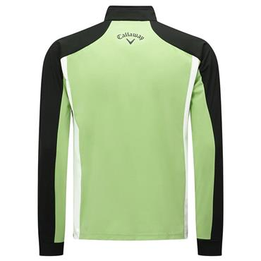 Callaway Gents Long Sleeve Blocked Technical Mid Layer Jade