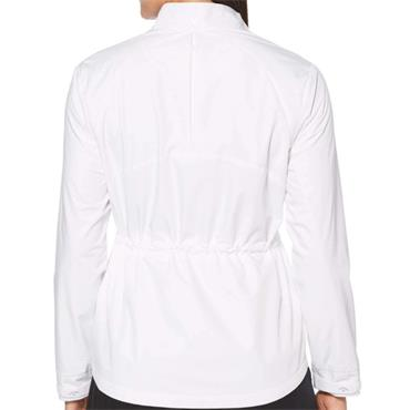 Callaway Ladies Full Zip Windwear Jacket White
