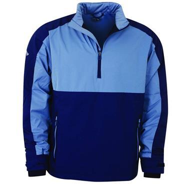 Callaway Gents 1/4 Zip Water Resistant Wind Jacket Peacoat