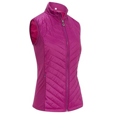 Callaway Ladies Swing Tech Puffer Vest Purple