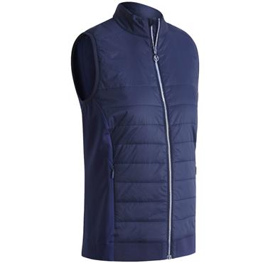 Callaway Ladies Light Weight Quilted Vest Peacoat