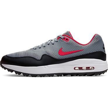 Nike Gents Air Max 1 G Shoes Grey - Black