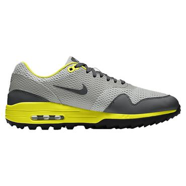 Nike Gents Air Max 1 G Shoes Grey - Lemon