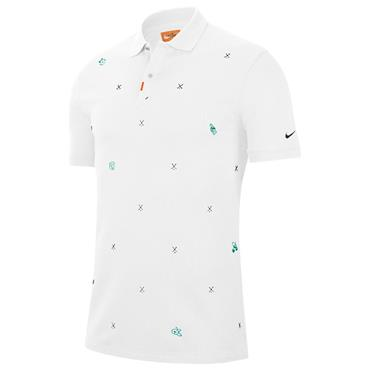Nike Gents Slim Fit Polo Shirt White