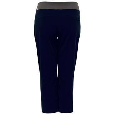 Calvin Klein Golf Ladies Ruched Capri Midnight