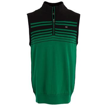 Calvin Klein Golf Gents Rapid Lined Vest Graphic Green