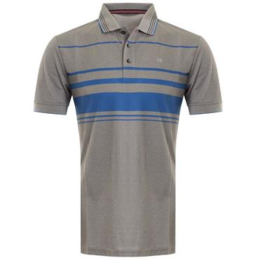Calvin Klein Golf Gents Stadium Polo Grey - Marl