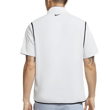 Nike Gents ½ Zip Therma Vest Grey 042